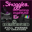 Shuggies & Besieged: Custom full-perm mesh clothing, scripts & HUD for creators in SL