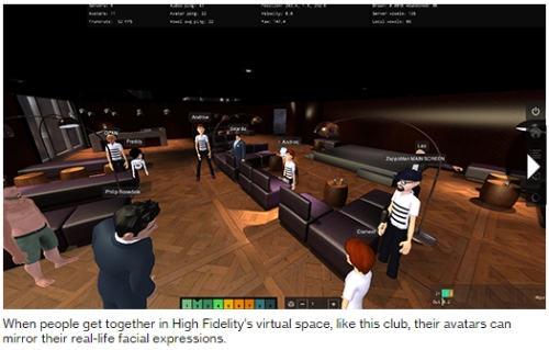 Philip Rosedale virtual world High Fidelity Second Life