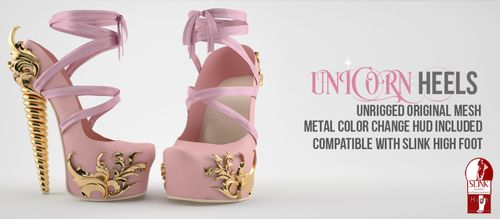 Violent Seduction Unicorn Heels C88