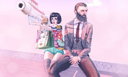Second Life fashion photo