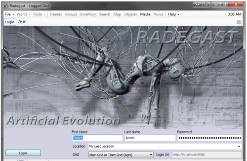 Radegast Second Life viewer