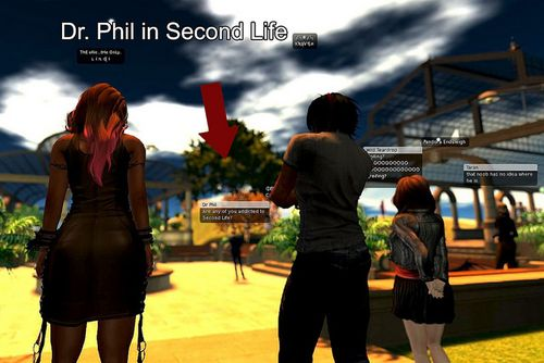 Dr Phil Second Life