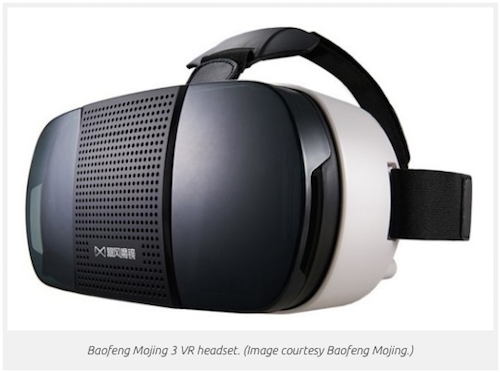 Baofeng Mojing 3 VR headset 1 million
