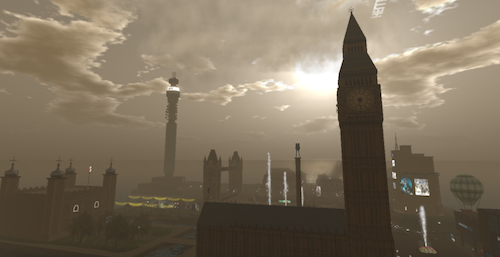 Second Life London UK Brexit Linden Dollar