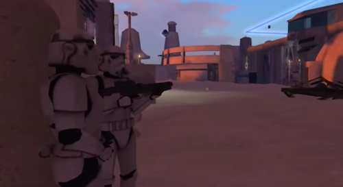 VR Second Life Star Wars
