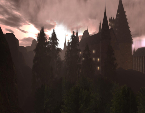 Harry Potter roleplay Second Life