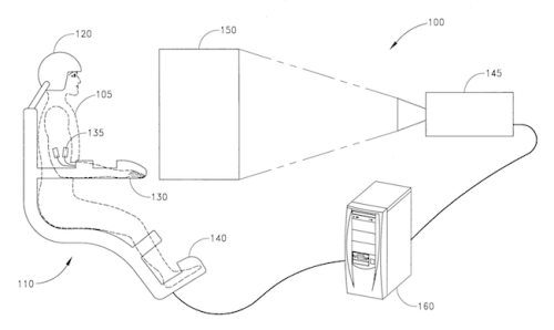 Philip Rosedale VR Patent application