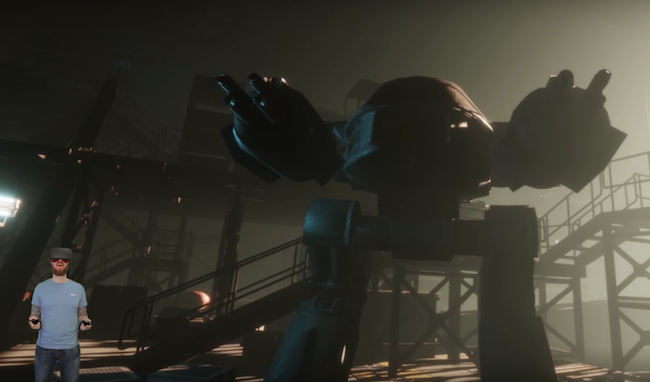 Aech's Garage VR Experience Ready Player One
