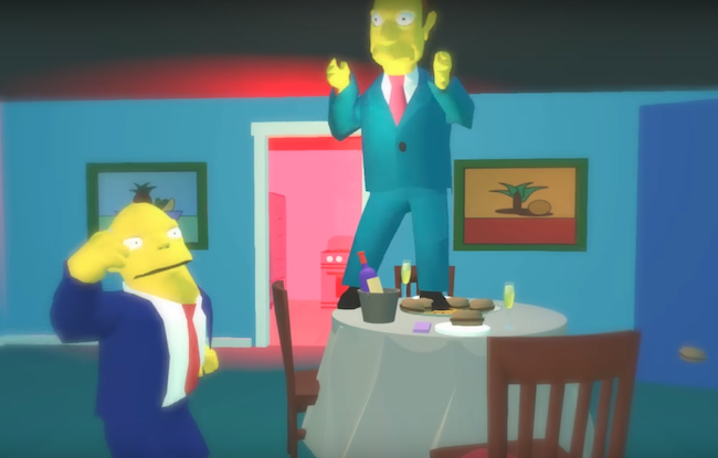 High Fidelity Simpsons Vive motion capture social VR