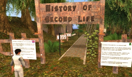 History of Second Life