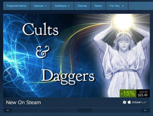 Cults and Daggers Rod Humble