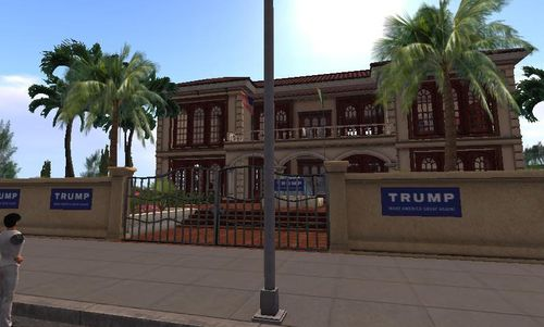 Virtual Trump mansion