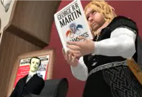 George RR Martin Second Life Tyrion