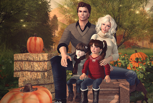 Virtual Family Alicia Second Life