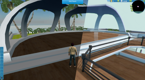 Space virtual world MMO
