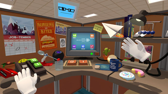 Job Simulator successful VR game
