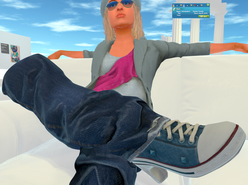 Space virtual world Avatar Clothing