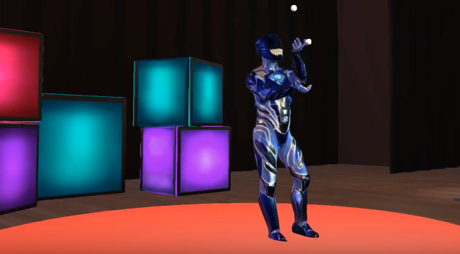 High Fidelity Avatar Talent Show
