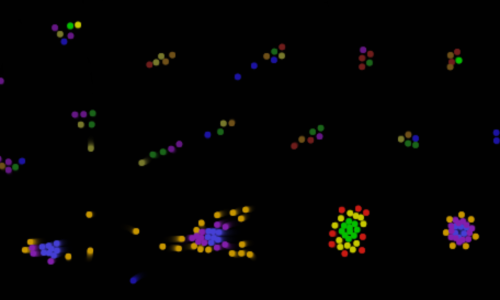 Gems Ecosystem Clusters Artificial Life