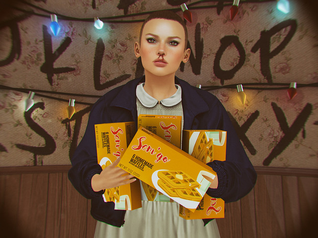 Eleven Stranger Things Cosplay