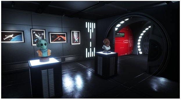 Sansar Hollywood Museum Star Wars VR