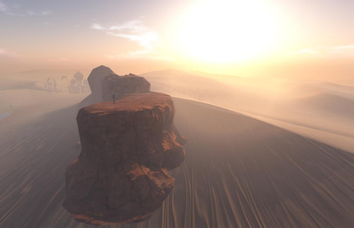 Desert of the unreal Second Life