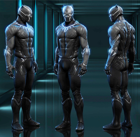 Black Panther Bento Avatar Second Life