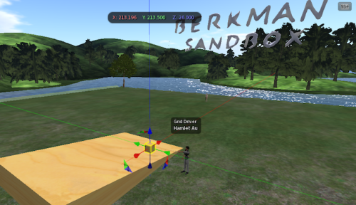 Harvard Berkman Second Life Splinter news Sandbox