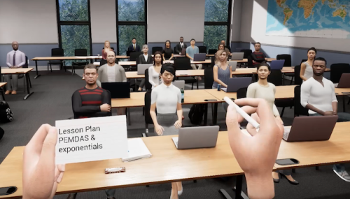 OVation public speaking app VR