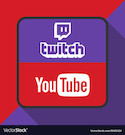 New World Notes twitch-and-youtube-logo-with-background-ima-vector-19461424