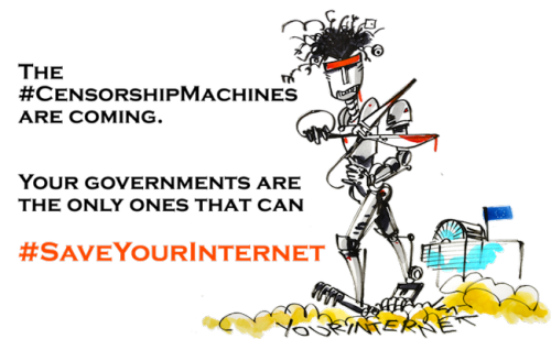 EU Article 13 EFF Internet Cory Doctorow
