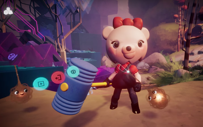 Media molecule dreams user created little big planet