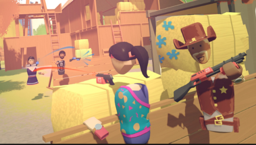 Rec Room social VR game Steam