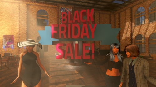 Sinespace MMO Black Friday offers