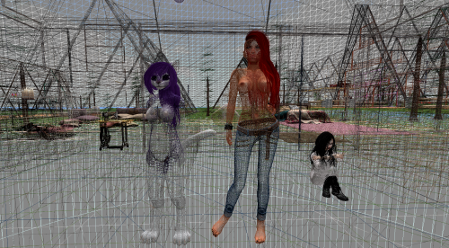 SL skin SLINK bad optimization mesh