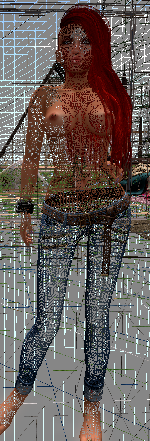 SL skin SLINK bad optimization mesh detail