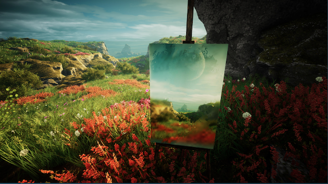 Eastshade open world art game