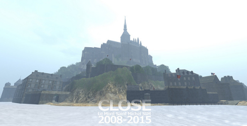 Le Mont Saint Michel SIM Second Life