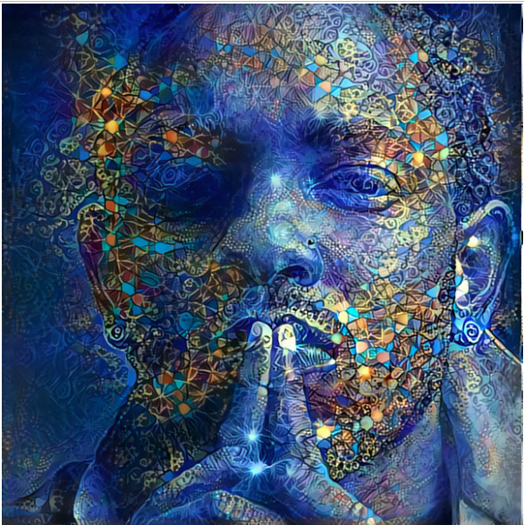 Nettrice gaskins art Kendrick Lamar Deep Dream