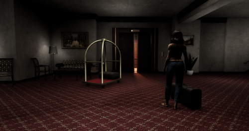 Sansar creepy hotel