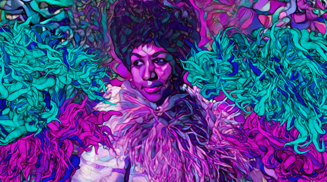 Deep Dream Aretha Nettrice Gaskins