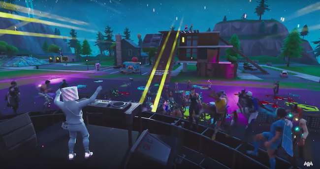 Fortnite Second Life Marshmello Suzanne Vega