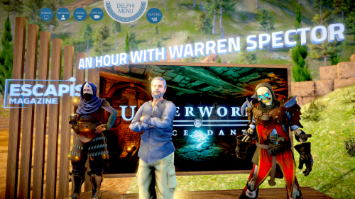 Warren Spector Sinespace Escapist Underworld Ascendant