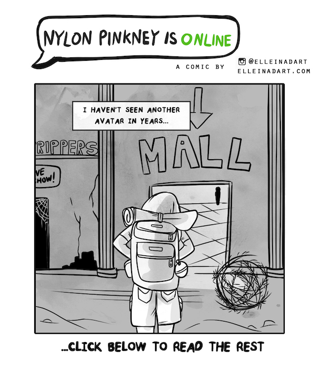 Nylon Pinkney SL mainland comic