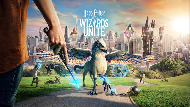 Harry Potter AR Niantic
