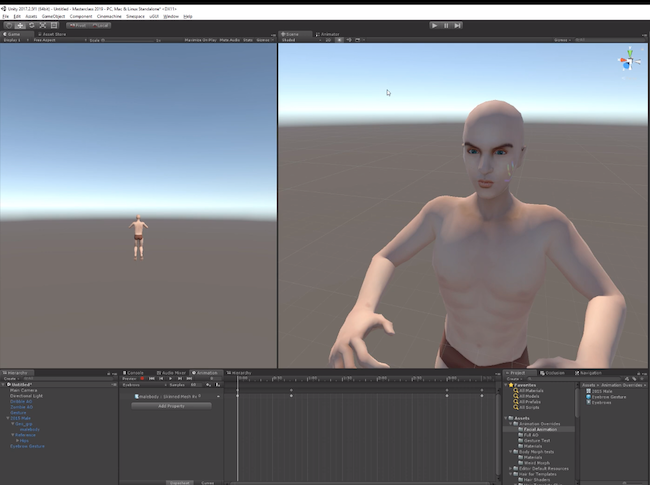 Sinespace Unity 3D Tutorial Avatar Animation Override