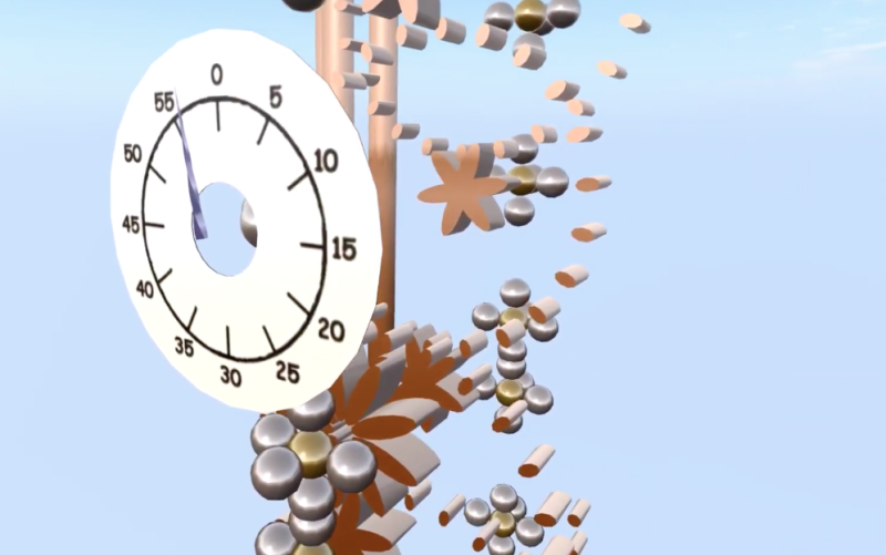 SL Physics based clock