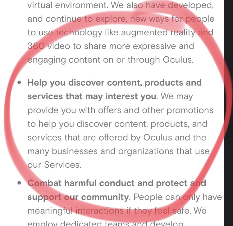 Oculus Quest advertising