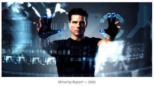VR AR gesture control Tom Cruise Minority Report Amber Case