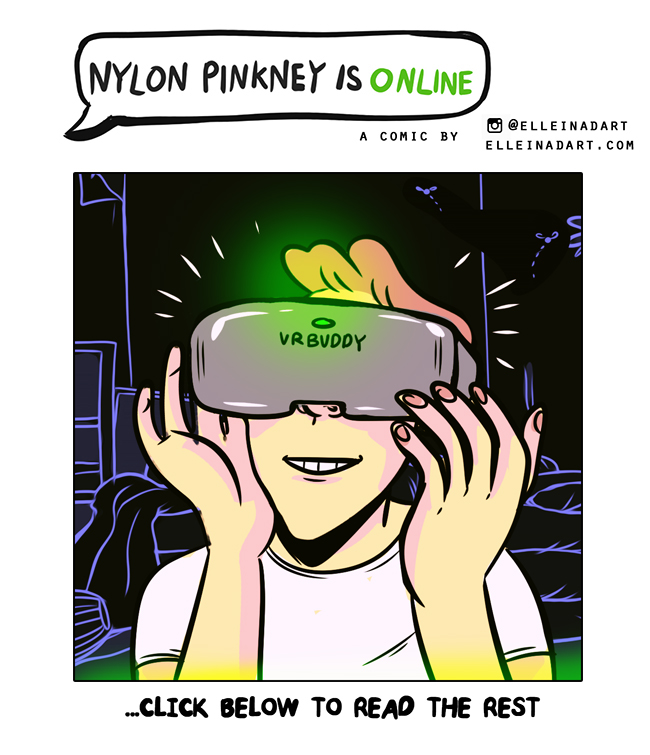 VR comic Nylon Pinkney